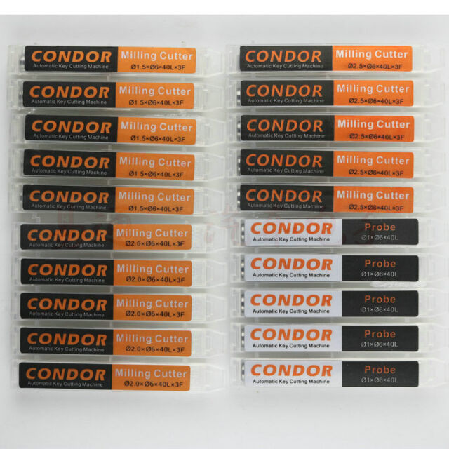 10pcs 2.0mm Cutter /& Probe for Xhorse XC-MINI//XC-007//XC-002//Dolphin//Mini-Plus