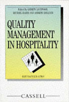 Quality Management in Hospitality by