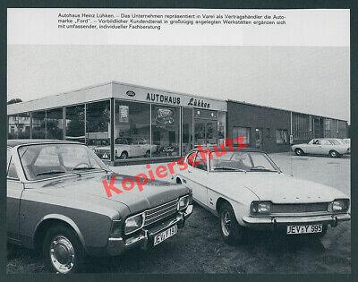 Ford Capri USA Ausführung Werkstatthandbuch Nachtrag