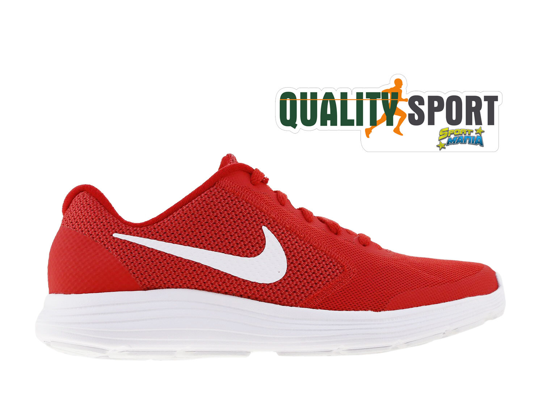 Nike Revolution 3 Ragazzo rojo  Zapato  Ragazzo 3 mujer Deporteive Corriendo 819413 601 b05237