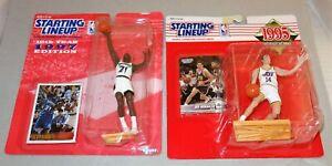 "Kenner-SLU -NBA -""Superstars Collection"" Kevin Garnett & Jeff Hornacek  - NIB"