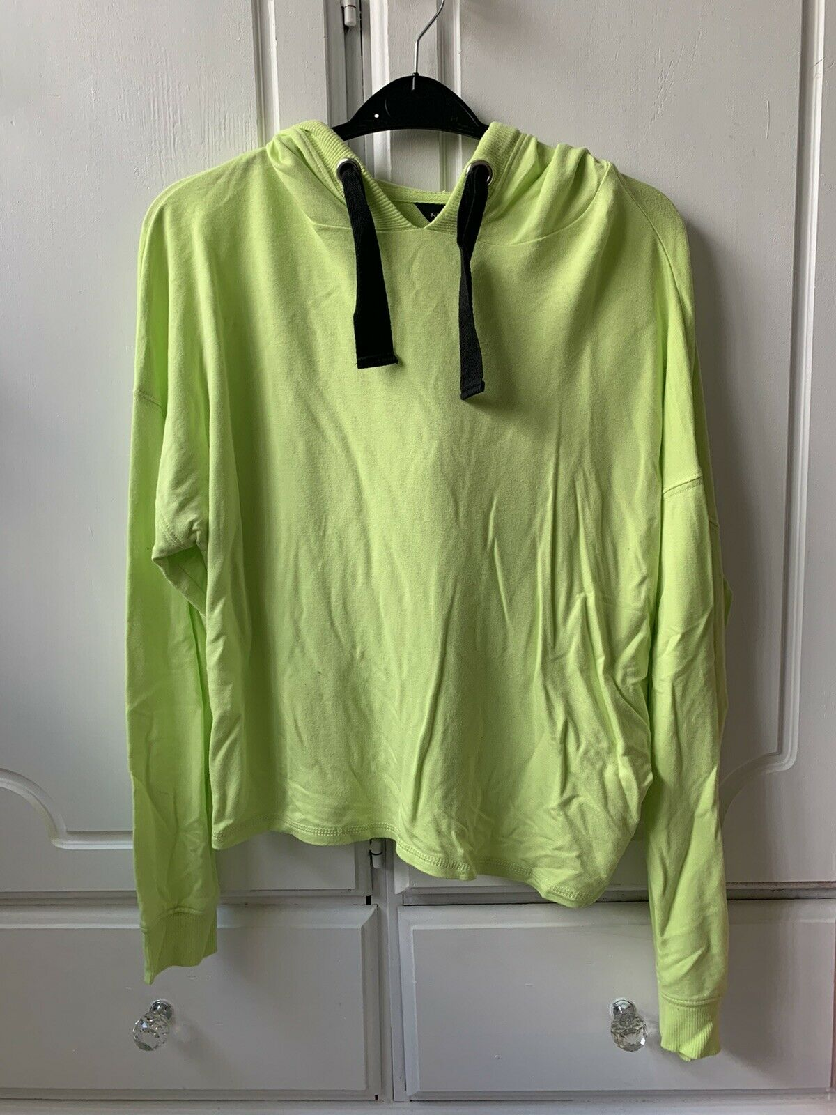 New Look Lime Green Light Weight Hoodie Size Small