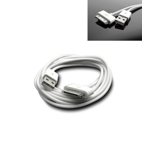 50X 3FT USB TO 30PIN WHITE CABLE DATA SYNC POWER CHARGING FOR SAMSUNG GALAXY TAB