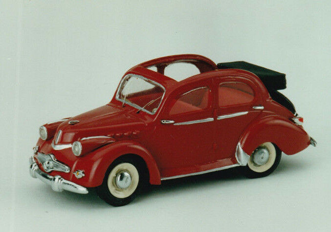 CCC Model Mounted  panhard dyna x 86 detectable 1951 reference 116