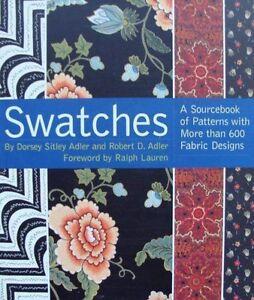 LIVRE-BOOK-SWATCHES-motifs-tissus-tapisserie-rideaux-patterns-fabric-designs