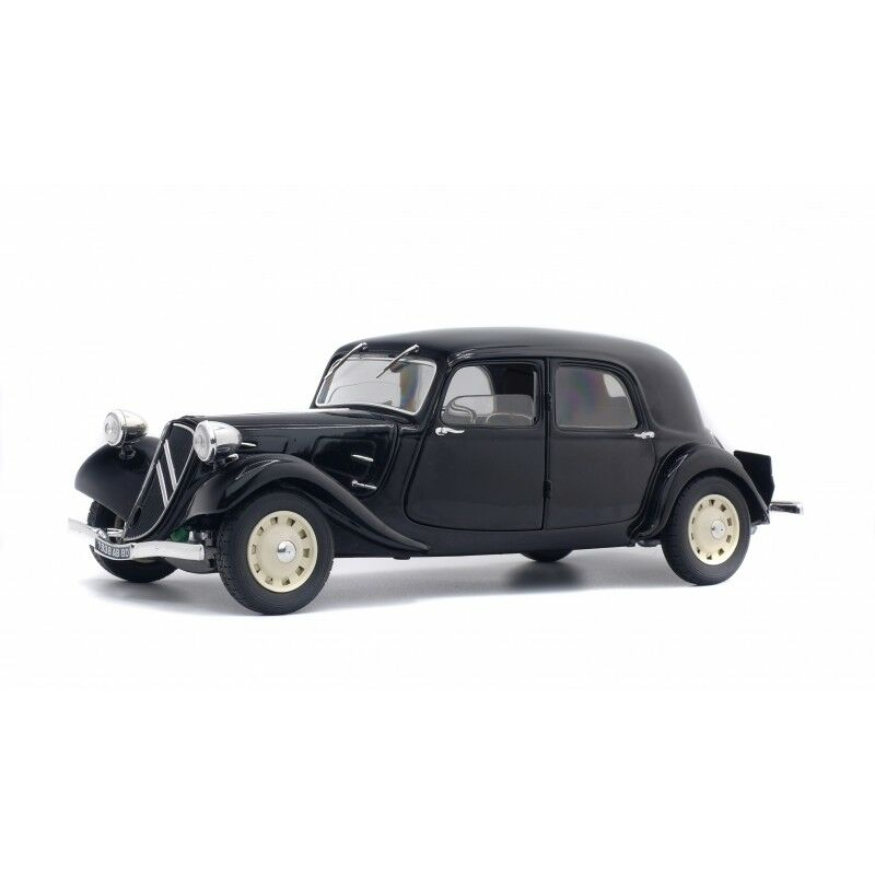 las mejores marcas venden barato Solido Modelo Fundido - - - 1 18 1937 Citroen Tracción 11cv - Negro  auténtico