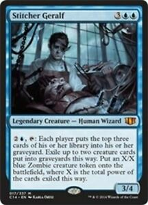 MTG-MAGIC-THE-GATHERING-STITCHER-GERALF-COMMANDER-2014-NEAR-MINT