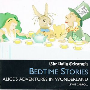 Alice-039-s-Adventures-In-Wonderland-Read-By-Fiona-Shaw-Bedtime-Stories-Audio-CD-N-P