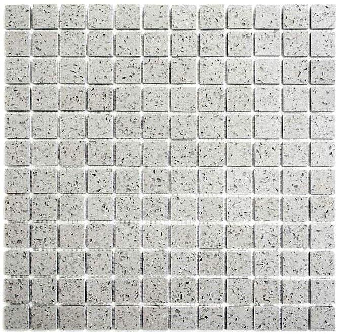 Mosaik Kunststein artificial grau Fliesenspiegel Küche Art  46-aSM23   10 Matten