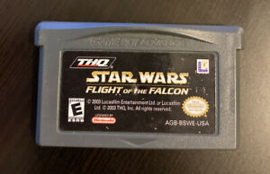 Star-Wars-Flight-of-the-Falcon-Nintendo-Game-Boy-Advance-2003-GAME-ONLY