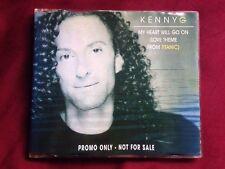 KENNY G - MY HEART WILL GO ON  - CD SINGLE PROMO