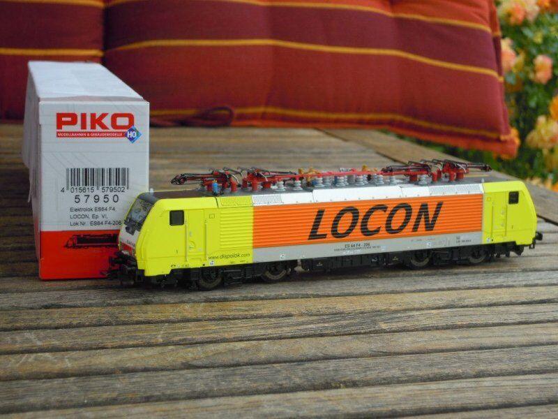 PIKO 57950 E-LOK BR 189 der LOCON privatbahn OLANDA ep. 5/6 con DSS NUOVO in OVP