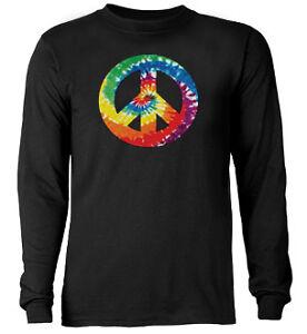 Tie-Dye-Peace-Sign-shirt-Long-Sleeve-T-shirt