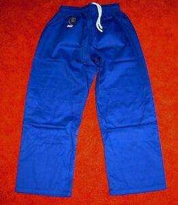 Judohose-Hose-mit-Knieverstaerkung-blau-verschiedene-Groessen-lieferbar