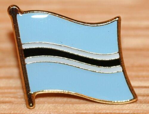 BOTSWANA Country Metal Flag Lapel Pin Badge