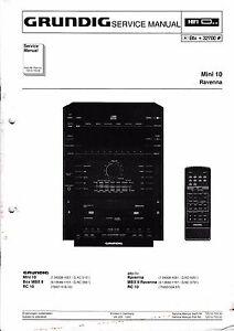 service manual for grundig mini 10 ravenna ebay rh ebay com mini 14 manual pdf instax mini 10 manual