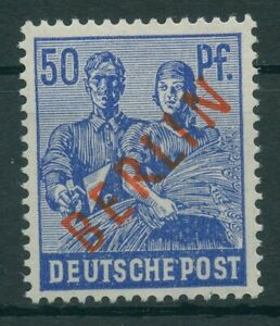 Germany-Berlin-vintage-yearset-1949-Mi-30-Mint-MNH-Tested-From-Ex-Mi-21-34