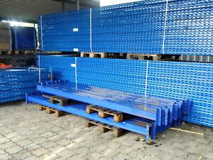 84 Stellplätze Palettenregal Feralco TITAN / MRK25 Schwerlast Holme 3.480 mm