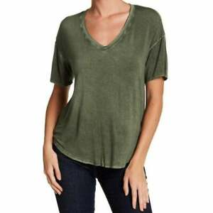 Abound-NWT-Olive-Green-Tee-Shirt-Size-XS-EXTRA-SMALL-Super-Soft-Comfort