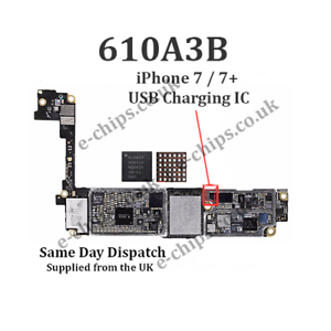 Details about 2 x 610A3B - iPhone 7 & iPhone 7 Plus - USB Charging IC -  (U4001) CHARGER REPAIR