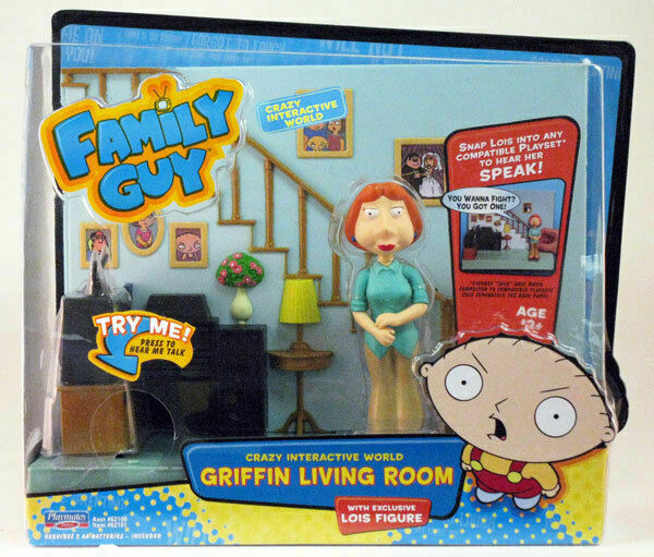 Griffin Living Room Playset Family Guy