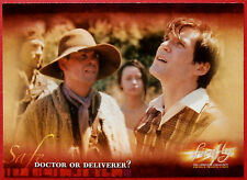 Joss Whedon's FIREFLY - Card #27 - Doctor or Deliverer - Inkworks 2006