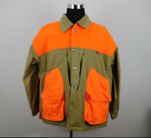 B1127C01 | Remington Men's XL Blaze Orange Tan Field Jacket Hunting Coat