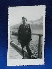 antikes Foto/Postkarte : junger deutscher Soldat in Uniform  7.10.1942