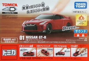 Takara-Tomy-TOMICA-4D-RED-Nissan-Skyline-GTR-DIECAST-CAR-MODEL-BRAND-NEW
