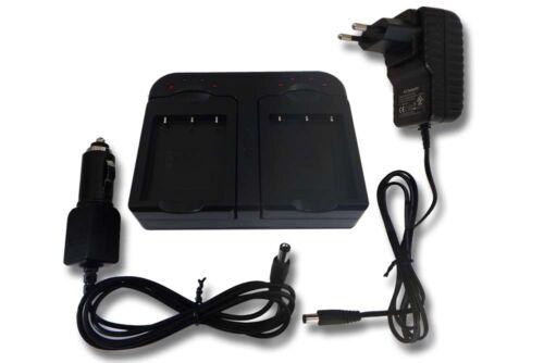 Cámara de batería cargador dual para Nikon Coolpix w100