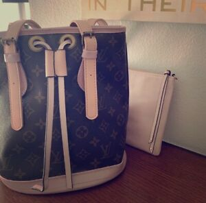 cc77cf61e397 Image is loading AUTHENTIC-LOUIS-VUITTON-CUSTOM-BACKPACK-PINK-EDEN-NOE-