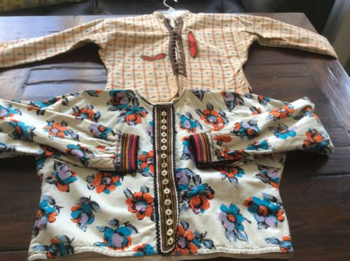 Vintage traditional greek tops blouses jackets