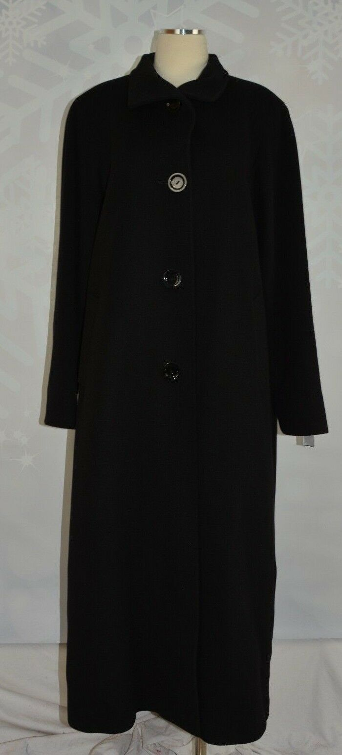 Cinzia Rocca debido Lana Cachemir  con cuello abrigo largo nuevo con etiquetas talla 12  ganancia cero