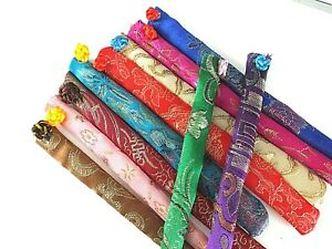 6-JAPANESE-MIX-COLOR-DESIGN-CHOPSTICKS-CASE-POUCH-BAG-COVER-CHINESE-PARTY-A12