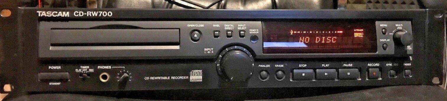 TASCAM CD-RW700 Lettore Registratore CD