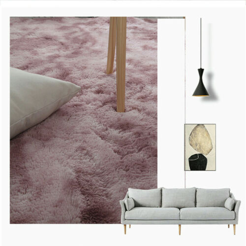 Ultra Soft Modern Area Rugs Shaggy Nursery Rug Living Room Fur Plush Carpet Mat
