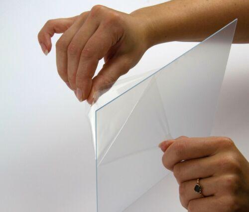 Kunstglas Ersatzglas Polystyrol Schutzscheibe Trennglas 2 mm Klar Wunschformat