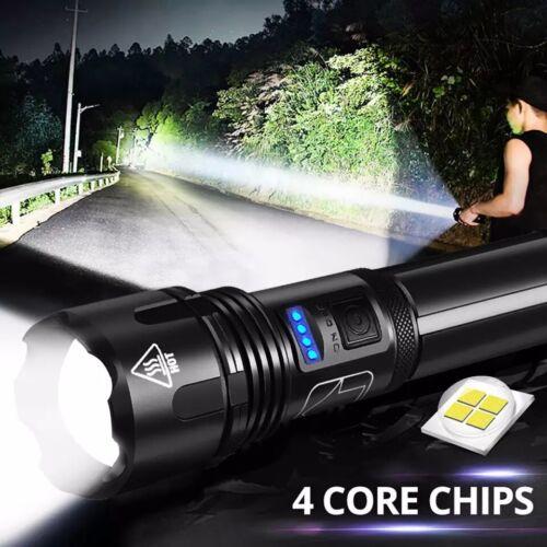 New Flashlights Powerful Led Flashlight XHP50 Torch Usb Rechargeable Waterproof