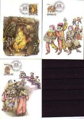 europa:15428 üPpiges Design Diskret Liechtenstein Mk 38 Michelnummer 818-820