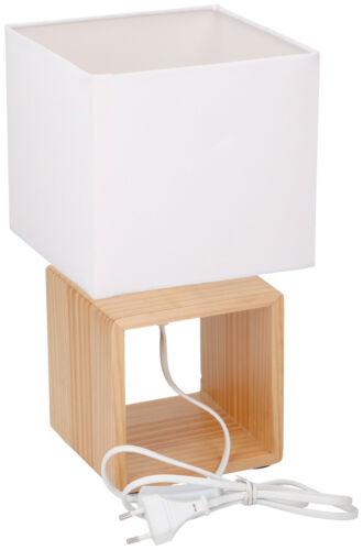 GRUNDIG Lampe de chevet Lampe de chevet Lampe de chevet luminaire design moderne en bois