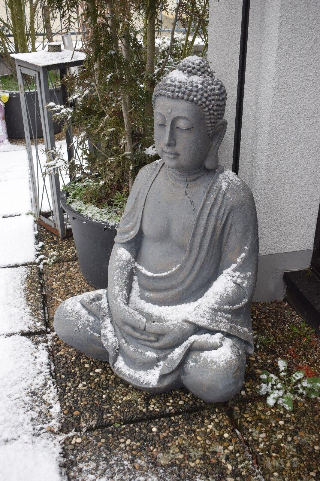 Dekofigur Buddha Skulptur Gartenfigur XXL Höhe 100 cm     Nur Abholung<<<<