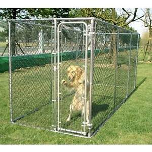 Galvanised 2 in 1 dog chicken run exercise enclosure for Dog run cage enclosure