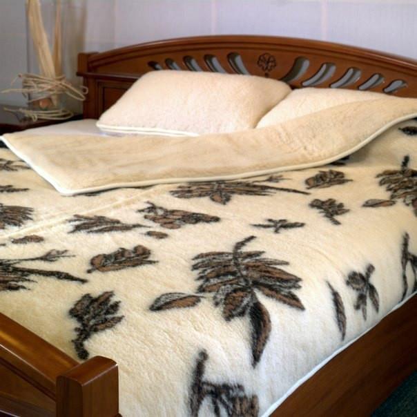 Sheepskin Blanket 100% Sheep Wool Throw Ultra Soft Warm Cozy Natural 180x210 cm