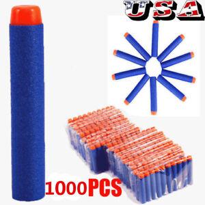 1000Pcs-Foam-Refill-Bullet-Darts-for-Nerf-Elite-Series-Blasters-Kids-Gun-Toy-US