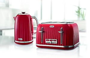 2d05854a843e Image is loading Breville-Impressions-Kettle-and-Toaster-Set-Red-Kettle-
