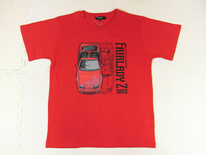 [GOODS] Nissan Fairlady Z 300ZX T-shirts Japanese LL size red Z32