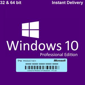 Microsoft-Windows-10-Professional-MS-Win-10-Pro-32-64Bit-Key-via-E-Mail-ESD