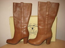 f02c221cc39 Lucky BRAND Aida Sequoia Leather Womens DESIGNER Shoes Knee High ...