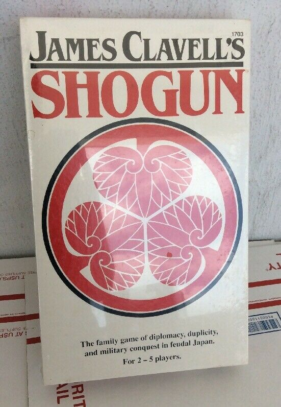 New Sealed Vintage 1983 FASA James Clavells Shogun Board Game SEE PICS