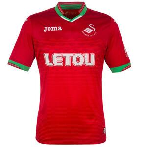 6d552d322a984 Details about 100% Official Joma Swansea City FC Men s Away Shirt 2017 18